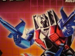 Closeup on KingToys Starscream box art. Handsome fella!